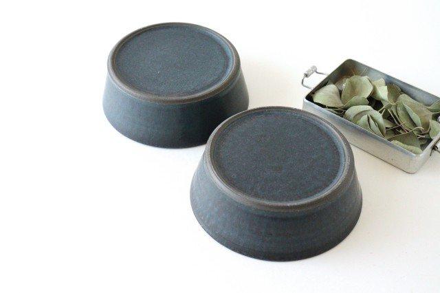 ドラ鉢 大 青黒 陶器 都築明  画像6
