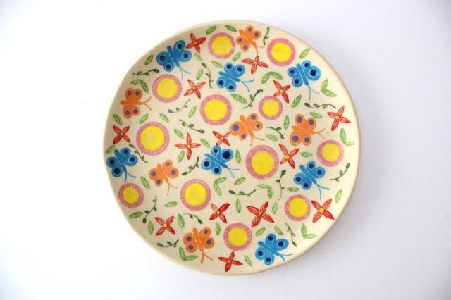 【一点もの】色絵付け大皿 【A】 陶器 工房双子堂 やちむん