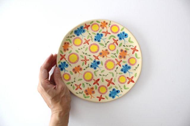 【一点もの】色絵付け大皿 【A】 陶器 工房双子堂 やちむん 画像4