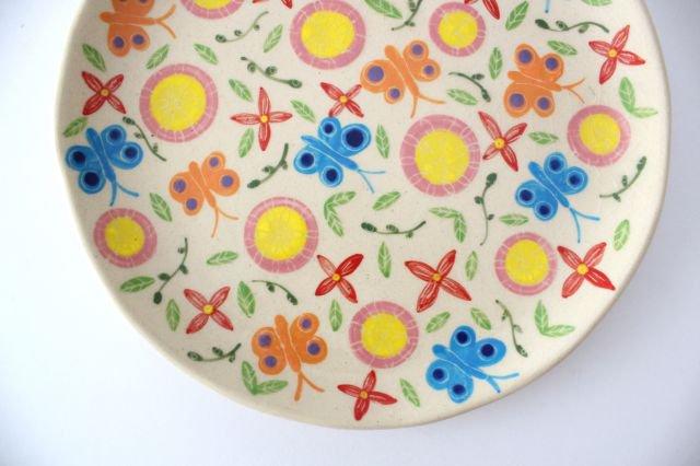 【一点もの】色絵付け大皿 【A】 陶器 工房双子堂 やちむん 画像6
