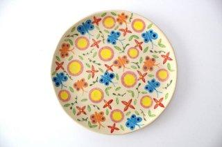 【一点もの】色絵付け大皿 【A】 陶器 工房双子堂 やちむん商品画像