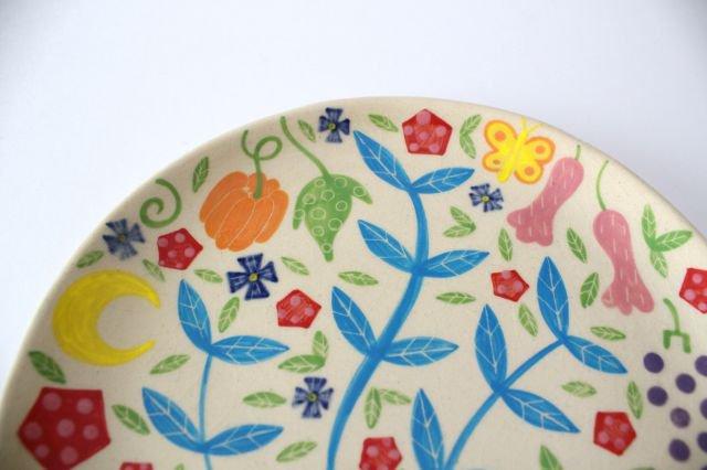 【一点もの】色絵付け大皿 【B】 陶器 工房双子堂 やちむん 画像4