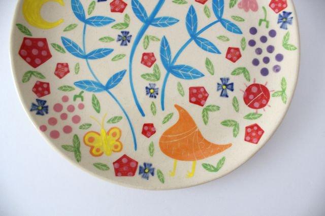 【一点もの】色絵付け大皿 【B】 陶器 工房双子堂 やちむん 画像5