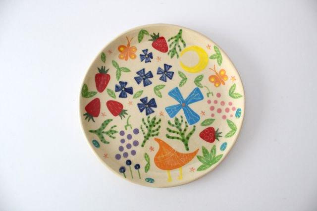 【一点もの】色絵付け大皿 【C】 陶器 工房双子堂 やちむん