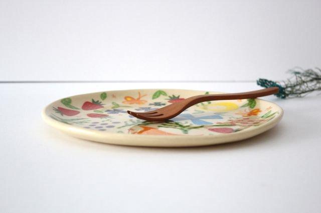 【一点もの】色絵付け大皿 【C】 陶器 工房双子堂 やちむん 画像2