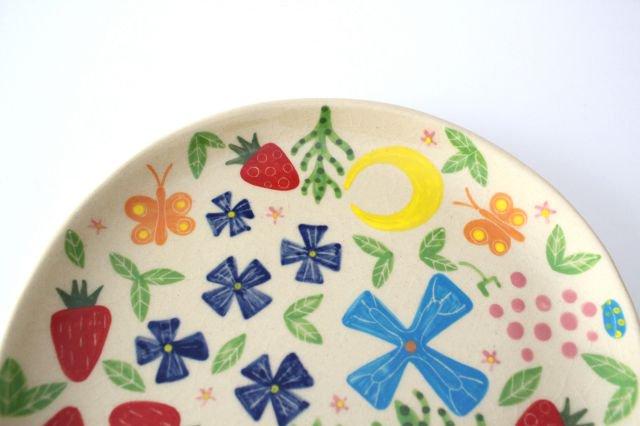 【一点もの】色絵付け大皿 【C】 陶器 工房双子堂 やちむん 画像4
