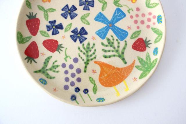 【一点もの】色絵付け大皿 【C】 陶器 工房双子堂 やちむん 画像5