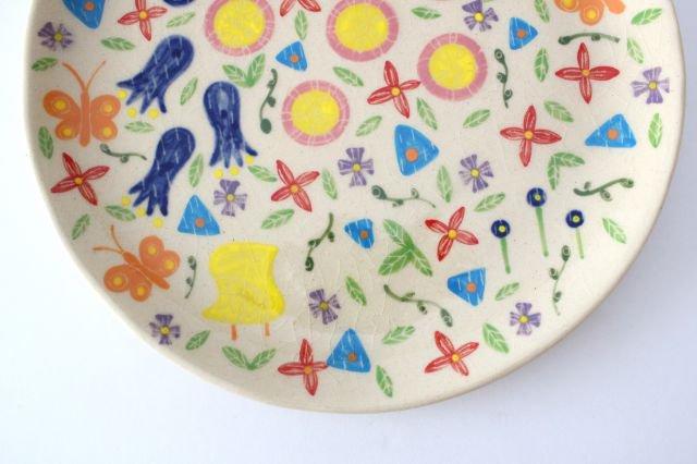 【一点もの】色絵付け大皿 【D】 陶器 工房双子堂 やちむん 画像5