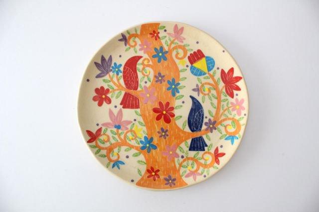 【一点もの】色絵付け大皿 【E】 陶器 工房双子堂 やちむん
