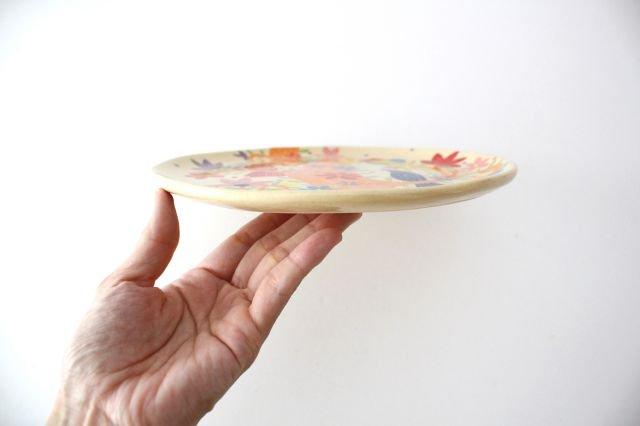 【一点もの】色絵付け大皿 【E】 陶器 工房双子堂 やちむん 画像2