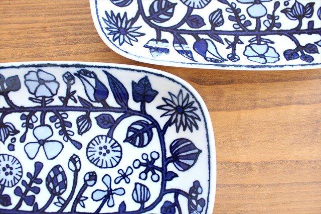 波佐見焼 フラワーパレード 焼皿 白 磁器 画像4