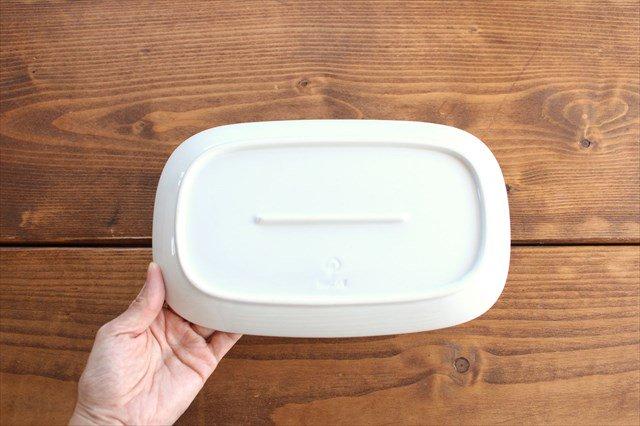 波佐見焼 フラワーパレード 焼皿 白 磁器 画像5