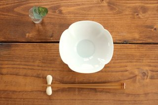 美濃焼 瑞々 木瓜鉢 5寸 青白 磁器 商品画像