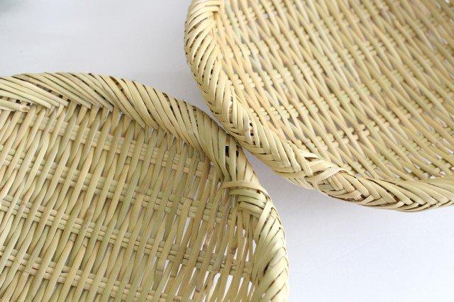 盆ざる 7寸 岩手の竹工芸 画像3
