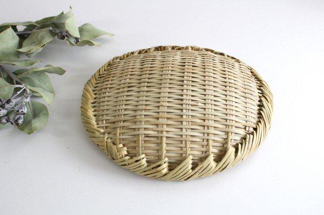 盆ざる 7寸 岩手の竹工芸 画像6
