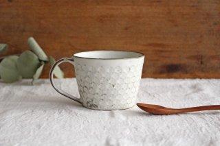 印花マグカップ 白 陶器 武曽健一商品画像