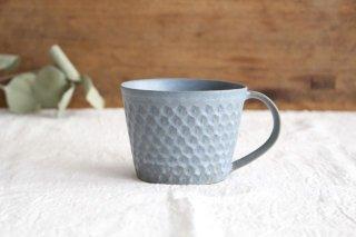 印花マグカップ 灰 陶器 武曽健一商品画像
