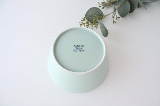 flat bowl ペールブルー 磁器 KANEAKI SAKAI POTTERY 画像5