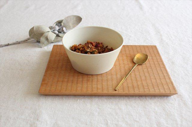 ブロックプレート 粉引 陶器 伊藤豊