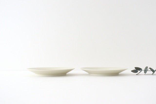 ブロックプレート 粉引 陶器 伊藤豊 画像3