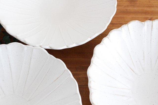 美濃焼 モチーフ ガーベラ 6寸鉢 陶器 画像4