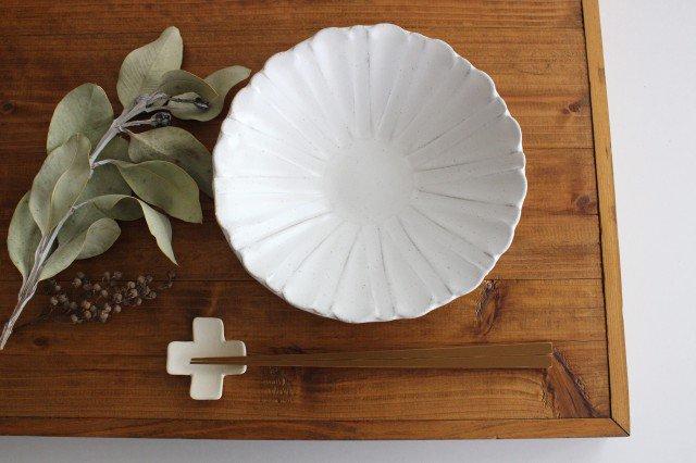 美濃焼 モチーフ ガーベラ 6寸鉢 陶器 画像5