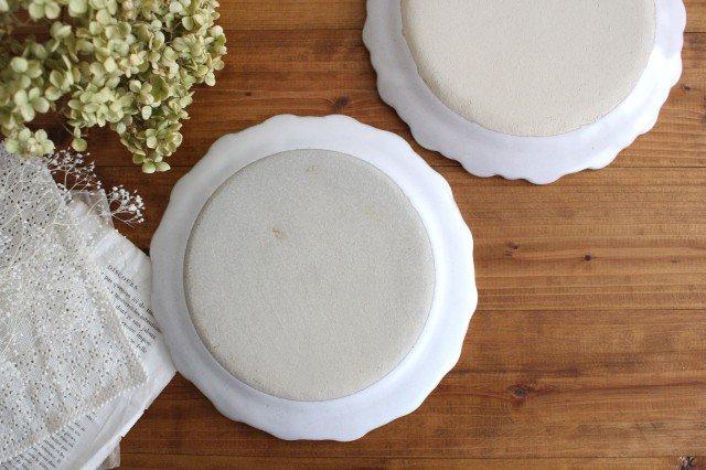 美濃焼 モチーフ ガーベラ 7寸皿 陶器 画像3