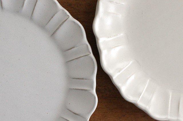 美濃焼 モチーフ ガーベラ 7寸皿 陶器 画像4