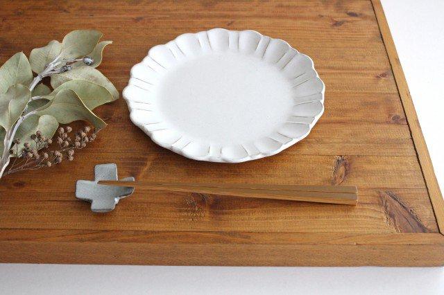 美濃焼 モチーフ ガーベラ 7寸皿 陶器 画像6