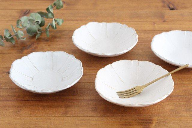 美濃焼 モチーフ ガーベラ 4寸皿 陶器 画像2
