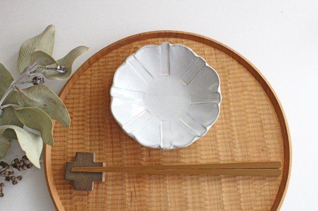 美濃焼 モチーフ ガーベラ 4寸皿 陶器 画像6