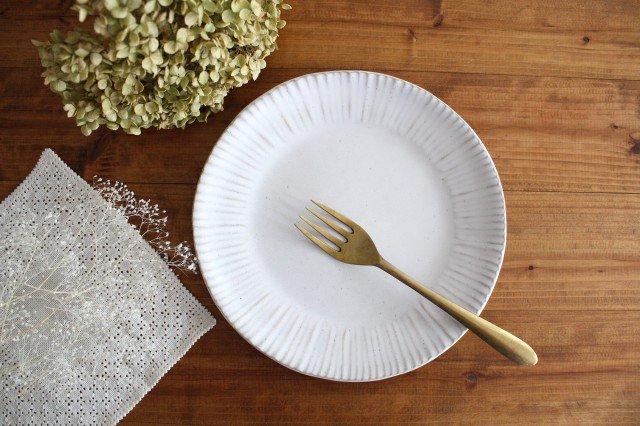 美濃焼 モチーフ ダンデライオン 7寸皿 陶器