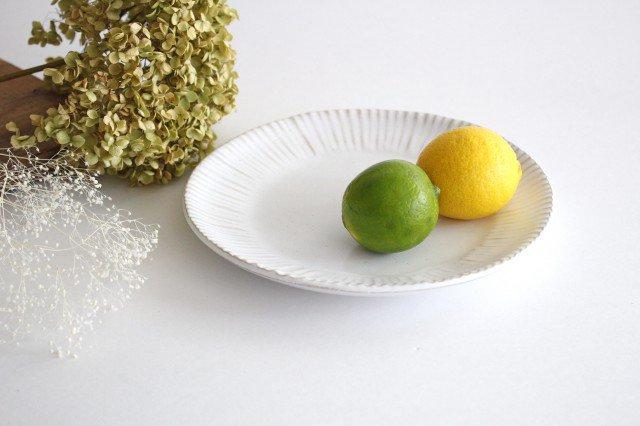美濃焼 モチーフ ダンデライオン 7寸皿 陶器 画像2