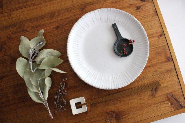 美濃焼 モチーフ ダンデライオン 7寸皿 陶器 画像5