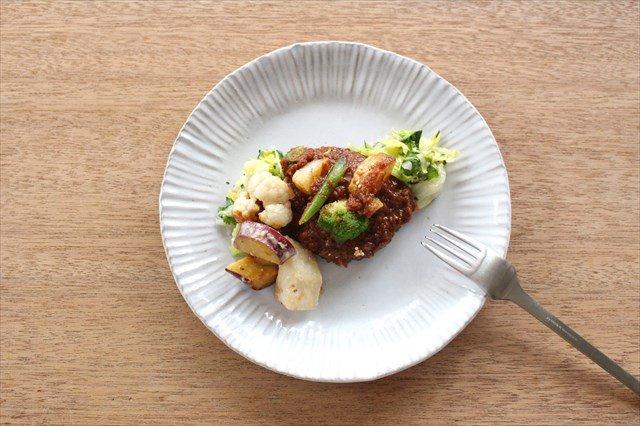 美濃焼 モチーフ ダンデライオン 7寸皿 陶器 画像6