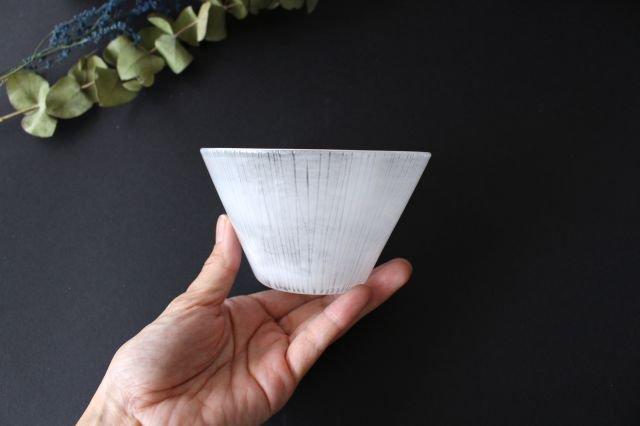 風景のドローイング 小鉢 縦線 ガラス 金津沙矢香 画像4