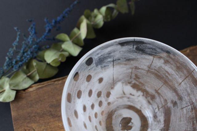 風景のドローイング 小鉢 ドット ガラス 金津沙矢香 画像3
