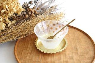 風景のドローイング 小鉢 ドット ガラス 金津沙矢香商品画像