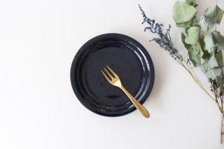 瑠璃釉 5寸皿 陶器 古谷製陶所商品画像