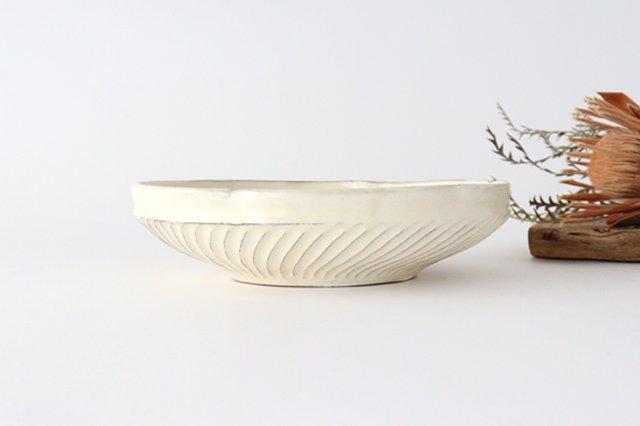 鎬 輪花鉢 陶器 後藤義国 画像3