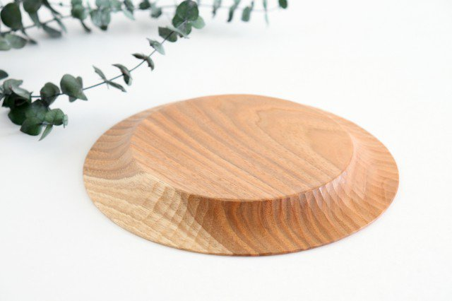 パンプレート 20cm 胡桃 ivory+安藤由紀 画像5
