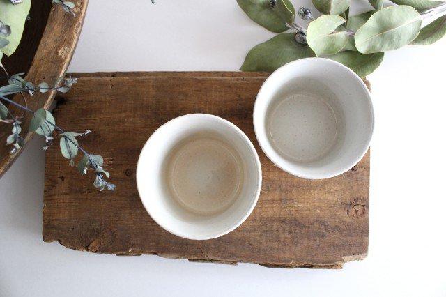 波佐見焼 ORIME ヘリンボーン そば猪口 ホワイト 陶器 画像4