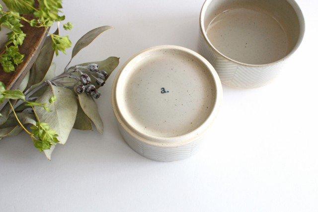 波佐見焼 ORIME ヘリンボーン ボウル ホワイト 陶器 画像4