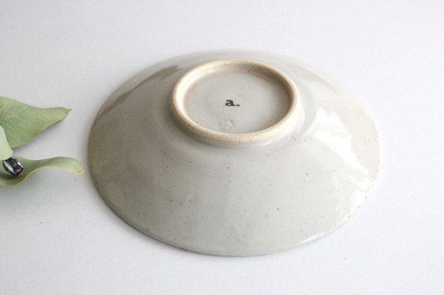 波佐見焼 ORIME ヘリンボーン 6寸丸皿 ブラウン 陶器  画像6
