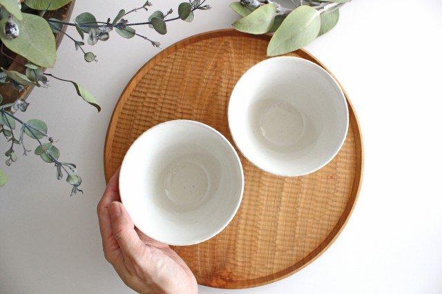 波佐見焼 ORIME ヘリンボーン 茶碗 ホワイト 陶器 画像6