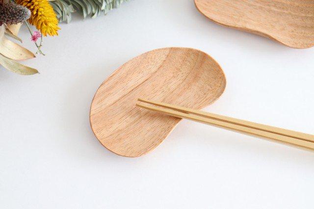小さなおまめ皿 胡桃 ivory+安藤由紀 画像3
