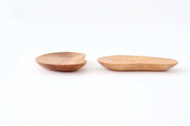 小さなおまめ皿 胡桃 ivory+安藤由紀 画像6