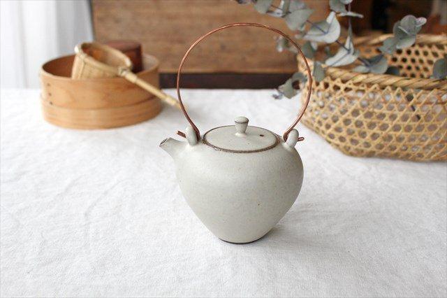 土瓶(M) 陶器 恵山 西村峰子