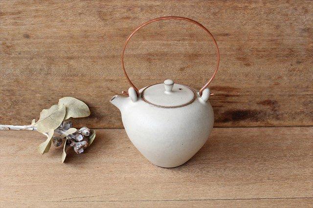 土瓶(M) 陶器 恵山 西村峰子 画像2