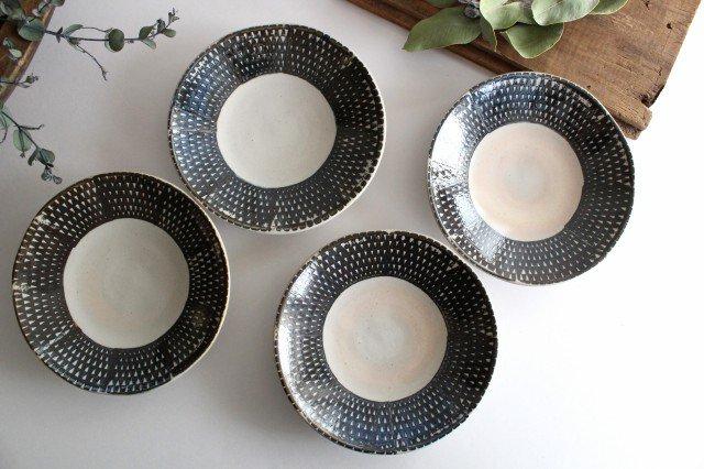 波佐見焼 ORIME 鹿の子 6寸丸皿 ブラウン 陶器 画像4